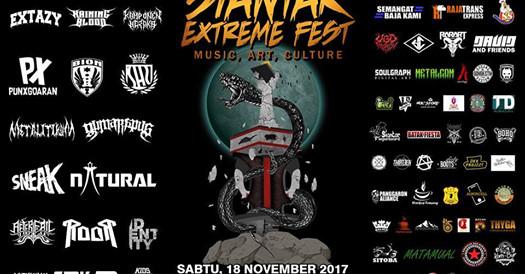 Tak Melulu Soal Musik, Siantar Extreme Fest Kali Ini Akan Hadirkan Tato dan Budaya